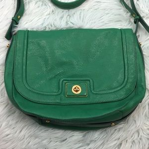MARC BY MARC JACOBS | green leather crossbody bag